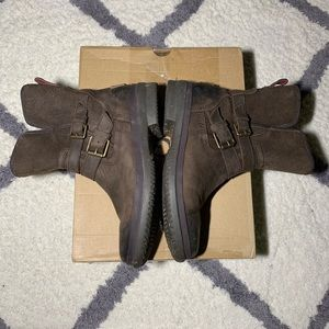Ugg Simmens leather boots EUC